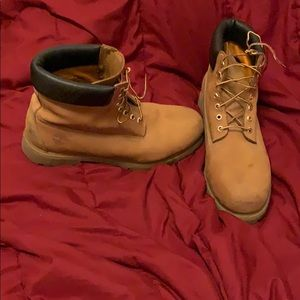 Size 13 Timberland Work Boots